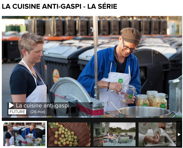 La cuisine (mobile) et antigaspi de David Gross